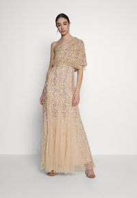 Lace & Beads - ROSE MAXI - Abito da sera - cream - 0