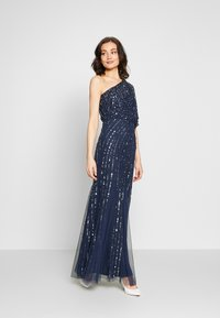 Lace & Beads - ROSE MAXI - Galajurk - navy - 1