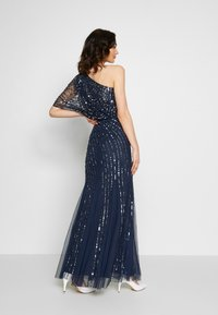 Lace & Beads - ROSE MAXI - Galajurk - navy - 2
