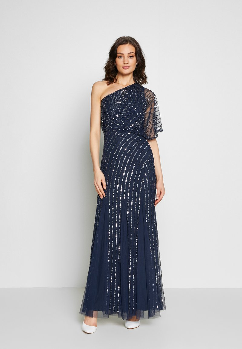 Lace & Beads - ROSE MAXI - Galajurk - navy