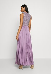 Lace & Beads - LUCA MAXI - Occasion wear - purple - 2