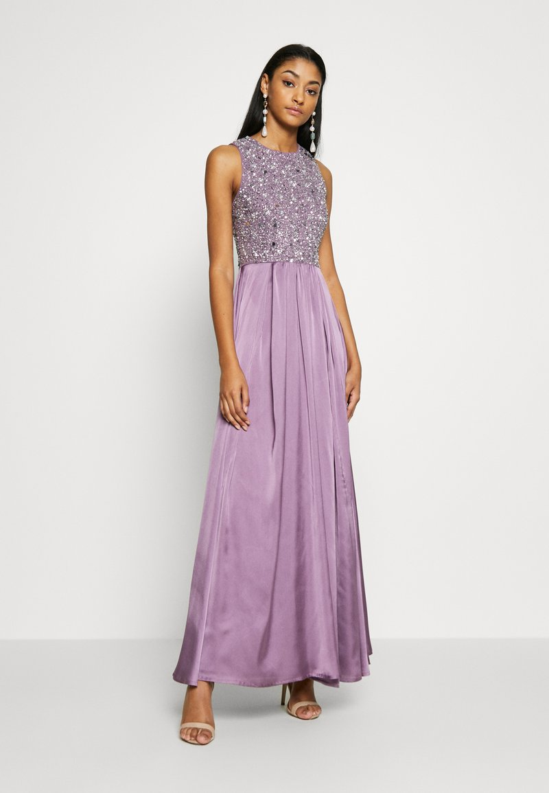 Lace & Beads - LUCA MAXI - Occasion wear - purple