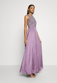 Lace & Beads - LUCA MAXI - Occasion wear - purple - 1
