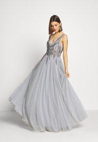 Lace & Beads - SKYLAR - Abito da sera - grey - 1