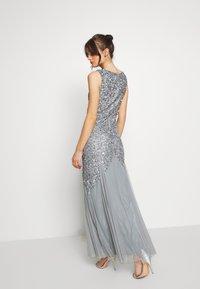 Lace & Beads - PRIYA MAXI - Abito da sera - grey - 2