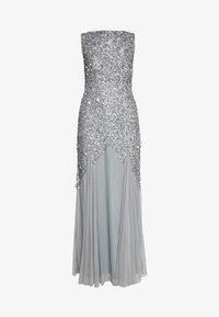 Lace & Beads - PRIYA MAXI - Abito da sera - grey - 3