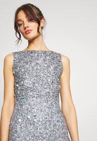 Lace & Beads - PRIYA MAXI - Abito da sera - grey - 4