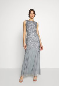 Lace & Beads - PRIYA MAXI - Abito da sera - grey - 0