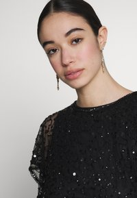 Lace & Beads - RAFEAELLA DRESS - Vestido de cóctel - black - 3