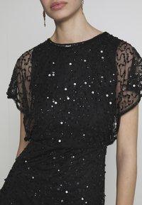 Lace & Beads - RAFEAELLA DRESS - Vestido de cóctel - black - 5