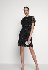 Lace & Beads - RAFEAELLA DRESS - Vestido de cóctel - black - 1