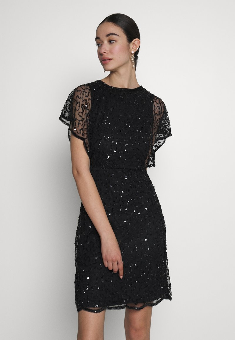 Lace & Beads - RAFEAELLA DRESS - Vestido de cóctel - black