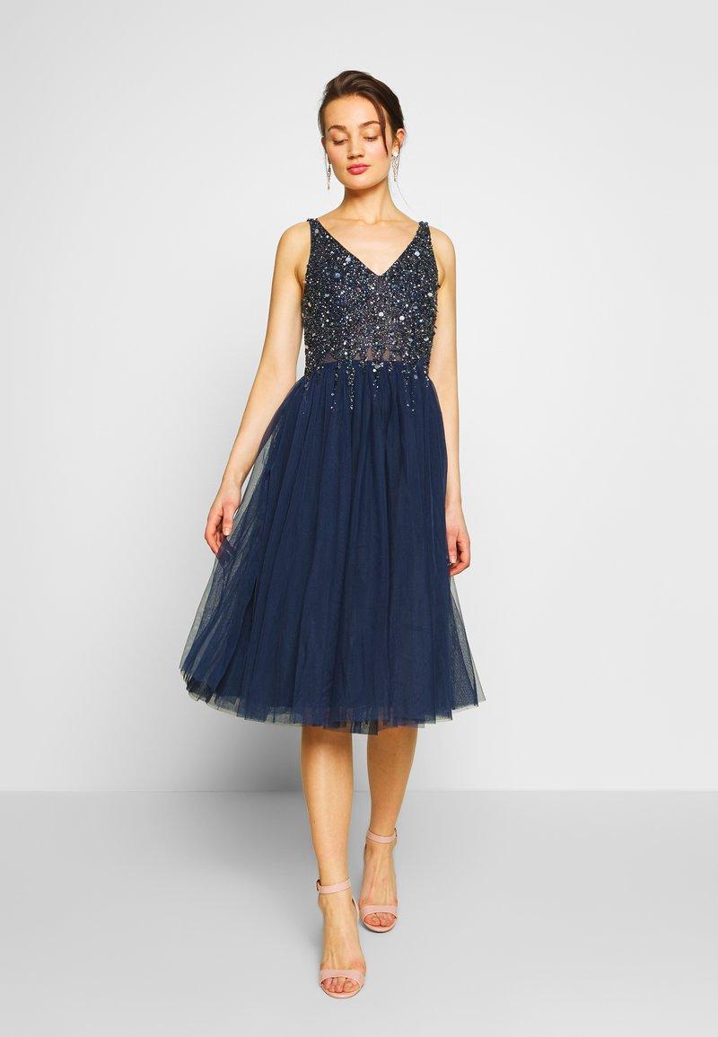 Lace & Beads - SYMPHONY - Koktejlové šaty/ šaty na párty - navy