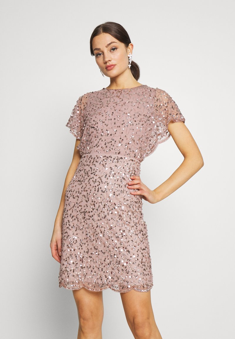 Lace & Beads - RAFAELLA DRESS - Cocktailkjole - mink