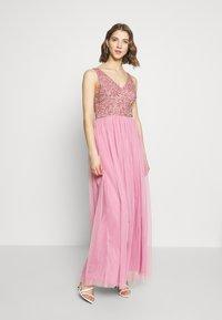 Lace & Beads - BELLAMY - Suknia balowa - pink - 1