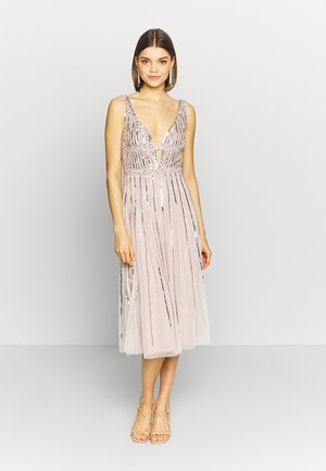 MYLA MIDI - Cocktail dress / Party dress - mink