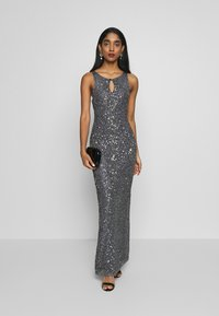 Lace & Beads - CARDIFF MAXI - Occasion wear - charcoal - 1