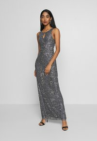 Lace & Beads - CARDIFF MAXI - Occasion wear - charcoal - 0