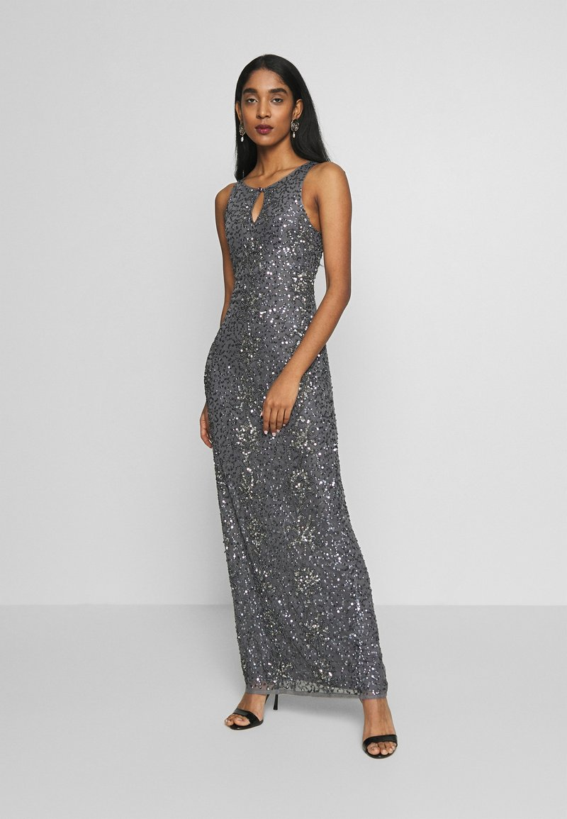 Lace & Beads - CARDIFF MAXI - Occasion wear - charcoal