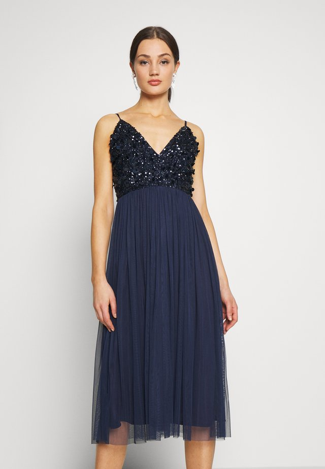 AZALIA MIDI - Cocktail dress / Party dress - navy
