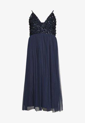 AZALIA MIDI - Cocktail dress / Party dress - navy