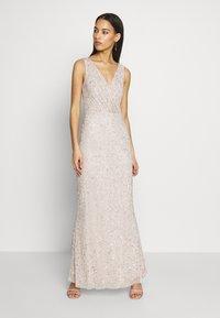 Lace & Beads - MOSCHINA  - Suknia balowa - nude - 0