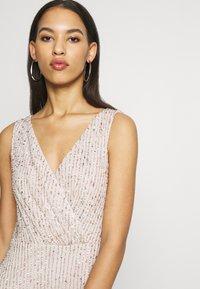 Lace & Beads - MOSCHINA  - Suknia balowa - nude - 4