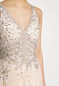 Lace & Beads - SARAYA MAXI - Abito da sera - cream - 4