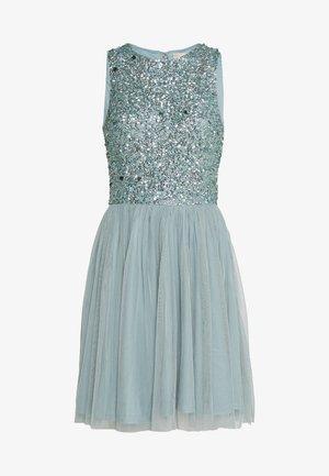 PICASSO SKATER - Cocktail dress / Party dress - teal