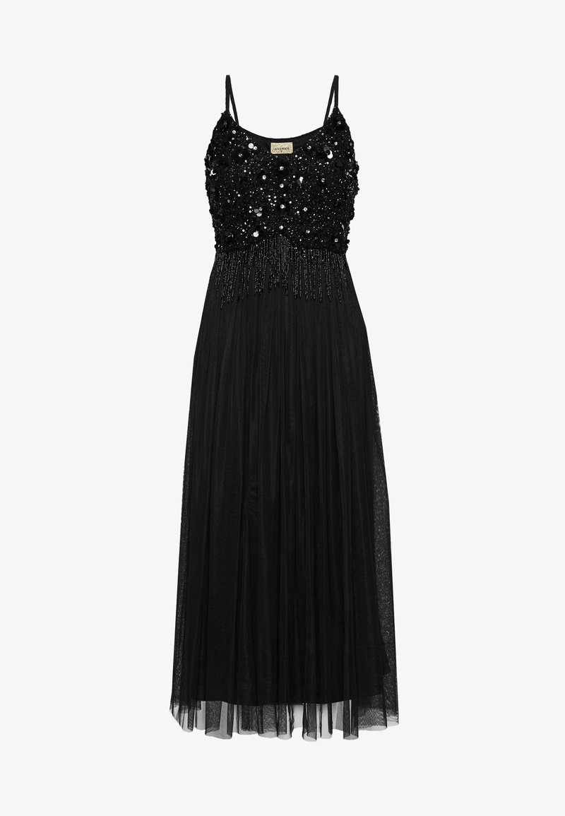 Lace & Beads - RIRI MIDI - Occasion wear - black