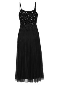 Lace & Beads - RIRI MIDI - Galajurk - black