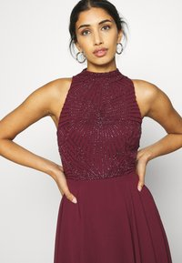 Lace & Beads - AVERY DRESS - Abito da sera - burgundy - 3