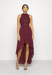 Lace & Beads - AVERY DRESS - Abito da sera - burgundy - 0