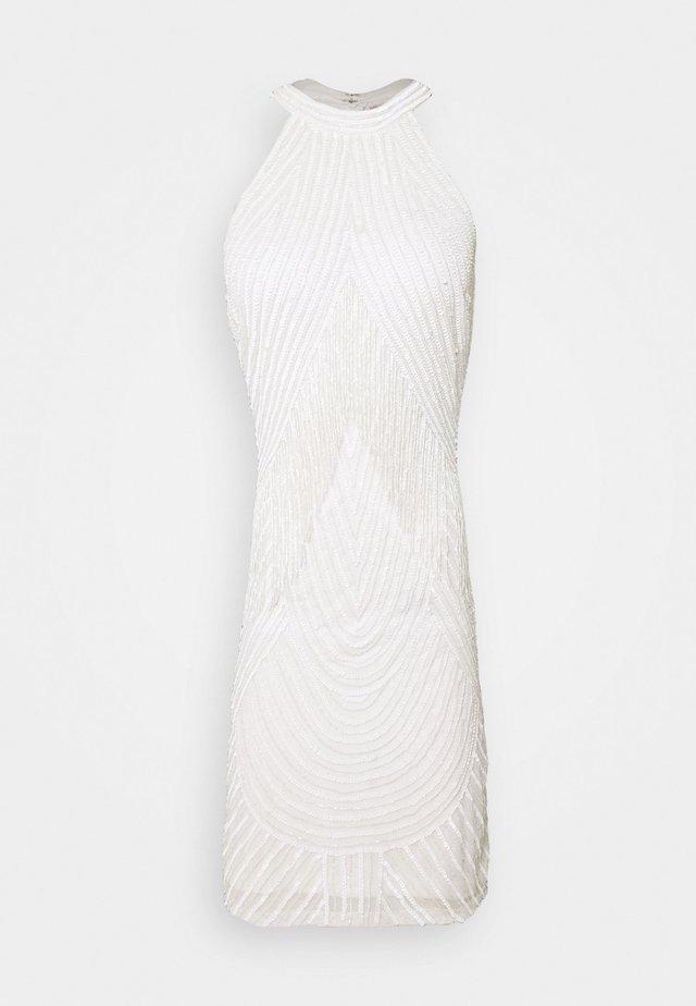 PAISLEY DRESS - Cocktail dress / Party dress - white