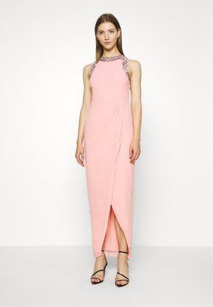 DUNIA WRAP MAXI - Vestido de fiesta - taffy pink