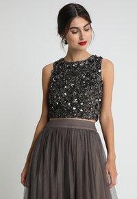 Lace & Beads - HAZEL - Top - stone - 0