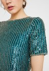 Lace & Beads - BEATLE - Bluser - teal