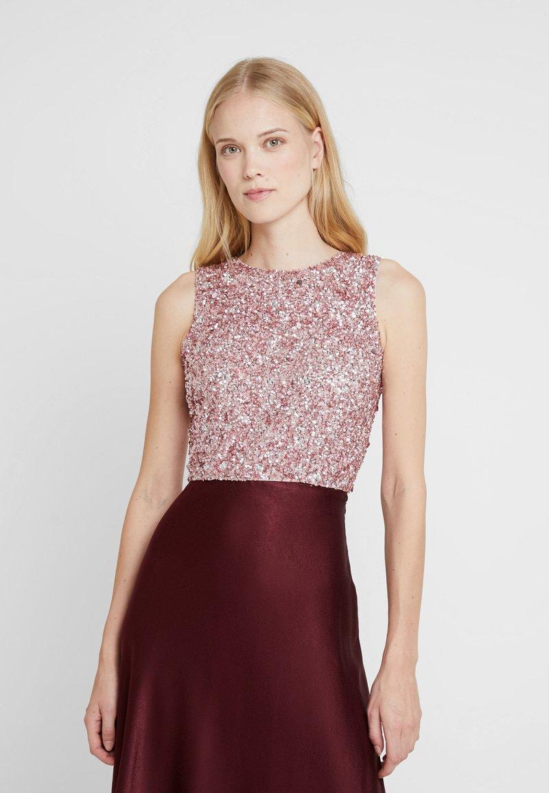 Lace & Beads - PICASSO - Débardeur - dark pink