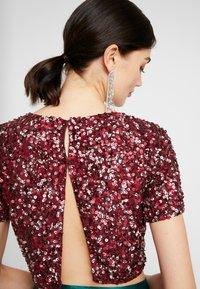 Lace & Beads - LETTY - Blus - burgundy - 3