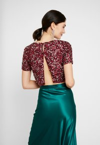Lace & Beads - LETTY - Blus - burgundy - 2