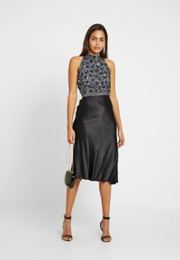 Lace & Beads - GIU - Bluser - charcoal - 1
