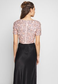 Lace & Beads - LETTY FLOWER - Blouse - nude - 2