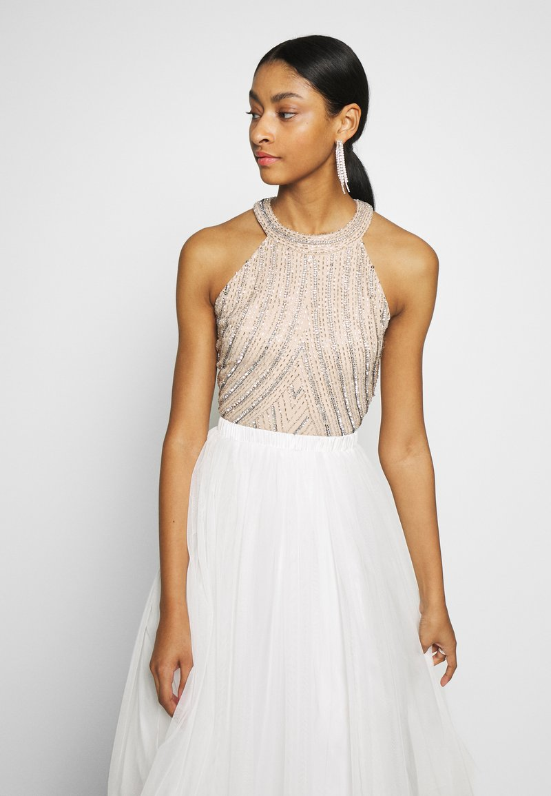 Lace & Beads - ROSETTE - Top - cream
