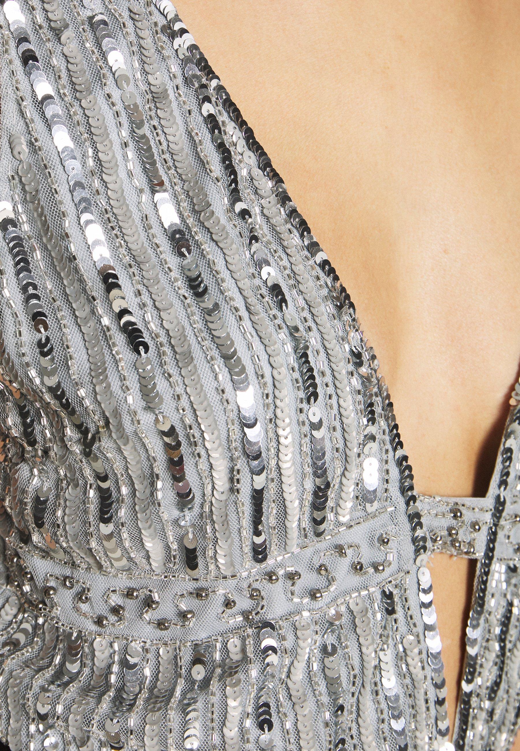 Lace & Beads MYLA - Bluzka - light grey