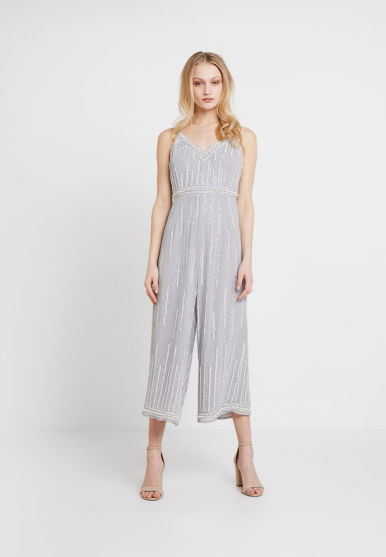 Lace & Beads - BALI CULOTTES - Jumpsuit - silver