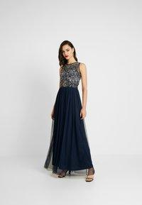 Lace & Beads - RAFT MAXI - Festklänning - navy - 1