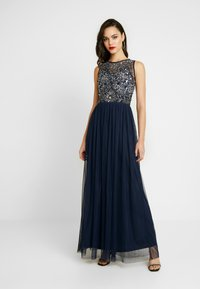 Lace & Beads - RAFT MAXI - Festklänning - navy - 0