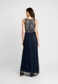 Lace & Beads - RAFT MAXI - Festklänning - navy - 2