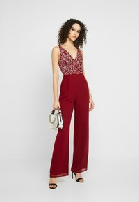 Lace & Beads - PICASSO - Tuta jumpsuit - red - 1