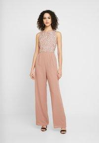 Lace & Beads - BEATRICE - Jumpsuit - mink - 0
